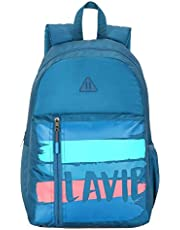 Lavie Sport 24 Ltrs Teal Casual Backpack (BDEI919043N4)