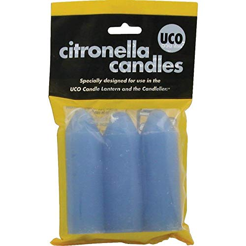 UCO 9 Hour Citronella Candles L-CAN3PK-C