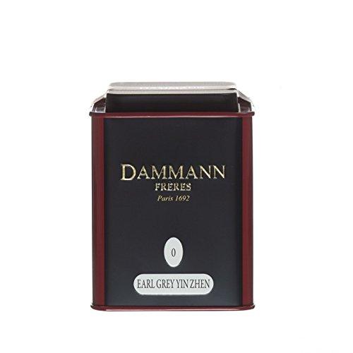 Dammann Freres Tee - Earl Grey Yin Zhen Schwarzer Tee - 100gr Dose Jardin Tee