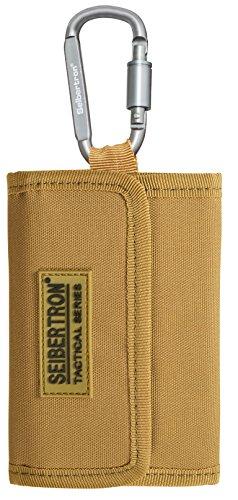 Seibertron Geldbeutel, Geldtasche, Geldbörse Portemonnaie mit RFID Schutz, Khaki -