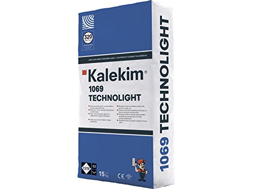 Technolight leichter variabler Flexkleber, Fliesenkleber Nano-light 75 kg C2TE S2
