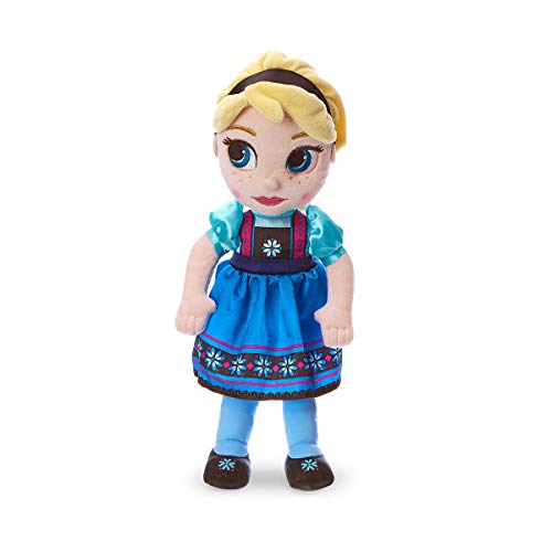 "Disney Animators Muñeca Peluche Pequeño Elsa 32cm de ""Frozen: El Rei"