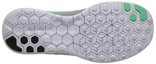 Nike Wmns Free 5.0, Chaussures de course homme Gris (Wolf Grey/Voltage Green/Green Strike)