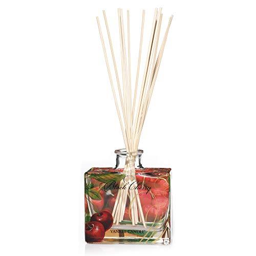 Yankee Candle 1348805E Black Cherry Firma Reed Diffusori, Legno, Amarena, Signature Diffus