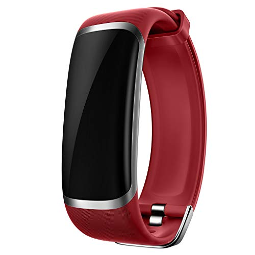 M4 Farbdisplay Multifunktions-Smart-Armband IP67 wasserdicht Herzfrequenz-Tracker Sportdatenüberwachung Social Sharing Blutsauerstoff-Überwachung Sportarmband/Kompatibles iOS Android-Gerät