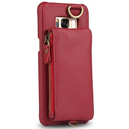 8e900815d01 Samsung Galaxy S8 PLUS Cartera, Galaxy S8 PLUS Carpeta, BORA S8 PLUS Slim  Funda