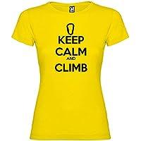 Kruskis 11502302XXLS085 Camiseta, Mujer, Amarillo, 2XL