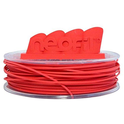 Neofil3D 3760244300805 HIPS Filament pour Imprimante 3D, 1,75 mm, Natural Red
