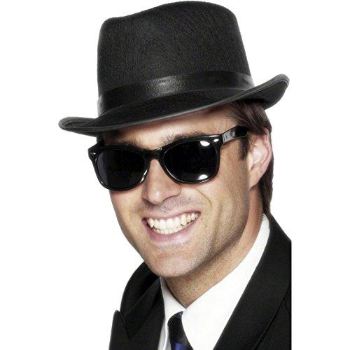 Sonnenbrille Blues Brothers Brille schwarz Karnevalsbrille