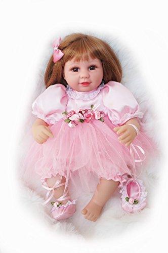 Cosette 16In Baby Puppen im Ballett Kleid für Kinder Geschenke Spielzeug Reborn Girl