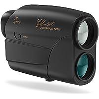 Hunting Rangefinder,Laser Entfernungsmesser Fnova 5 ~ 600 Meter Reichweite 7-fache Vergrößerung Geschwindigkeitsmesser bis 300KM/H für Golf und Jagd Bogensport Golf Entfernungsmesser