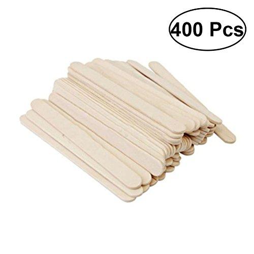 Holzhandwerk Sticks Große Pop Treat Sticks für DIY Handwerk 400 Stk ()
