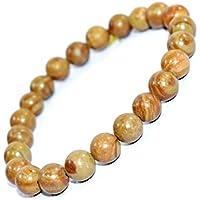 Bracelet Camel Jasper 8 MM Birthstone Handmade Healing Power Crystal Beads. preisvergleich bei billige-tabletten.eu