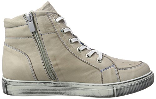 Andrea Conti 0343444, Sneakers basses femme Taupe