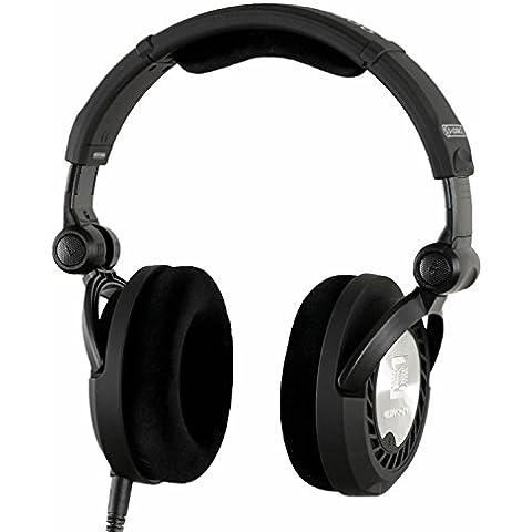 Ultrasone 12014 - Auriculares DJ de diadema abierto plegables (incluye funda, jack 3.5 mm, obstrucción 40 ohmios) color