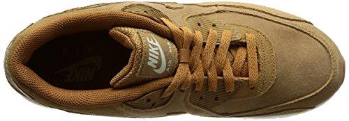 Nike Air Max 90 Ultra 2.0 Leather 924447200, Turnschuhe Hellbraun (Flax/Sail/Gum Medium Brown)
