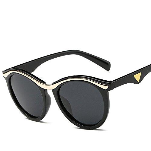 Preisvergleich Produktbild Chahua Elegante high gloss Sonnenbrille Persönlichkeit im Spiegel,  trendige Sonnenbrille Flut der hohe optische Sonnenbrille E