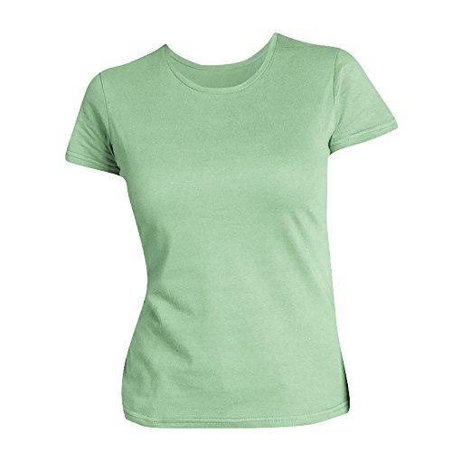 SOLS Damen T-Shirt, Kurzarm, Rundhalsausschnitt Taubenblau