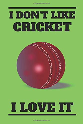 Handy-cricket (I Don't Like Cricket I Love It: Handy Notebook For All Fans Or Players Of The Greatest Sport In The World, Cricket)