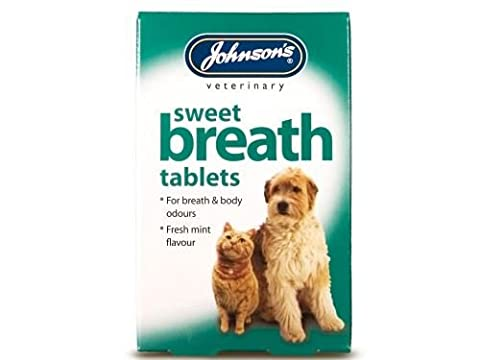 (2 Pack) Johnson's Vet - Sweet Breath 30 Tablets