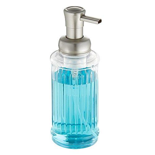 nterdesign-50305eu-ella-dispenser-per-sapone-in-schiuma-con-contenitore-laterale-colore-trasparente-
