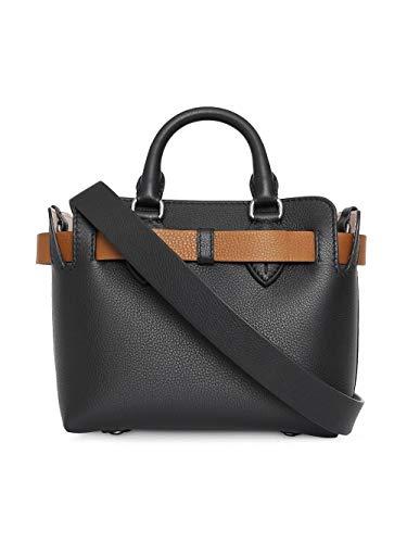BURBERRY Damen 8006678 Schwarz Leder Handtaschen - 2