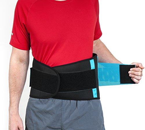 ActiveBak Fitnessgürtel – Orthopädische Rückenbandage mit Stützfunktion
