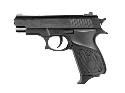 plan beta-Pistola softair a molla 1568-potenza : 0,5 joule, colore: nero