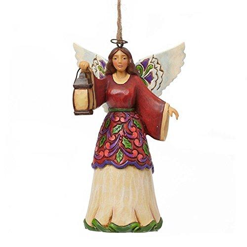 Jim Shore für Enesco Heartwood Creek Engel mit Laterne Ornament, 11,4 -
