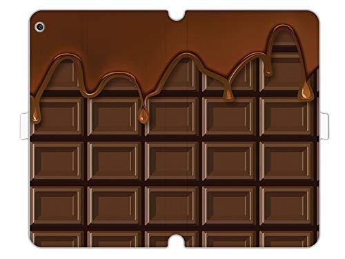 etuo Huawei MediaPad M3 Lite 10 - Hülle Wallet Book Fantastic - Schokolade - Handyhülle Schutzhülle Etui Case Cover Tasche für Handy