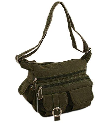 Neu Grün Stoff 148 12 Grün Bag Tasche Geoss Damenhandtasche Shopper X84nxwqTCP