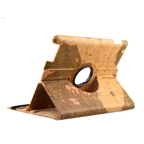 Comp Vapor (Generic iPad mini Smart Edel Leder Tasche Hülle Etui Leather Case Cover Schwarz)
