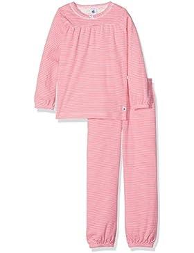 Petit Bateau Mädchen Zweiteiliger Schlafanzug Pyjama_22556
