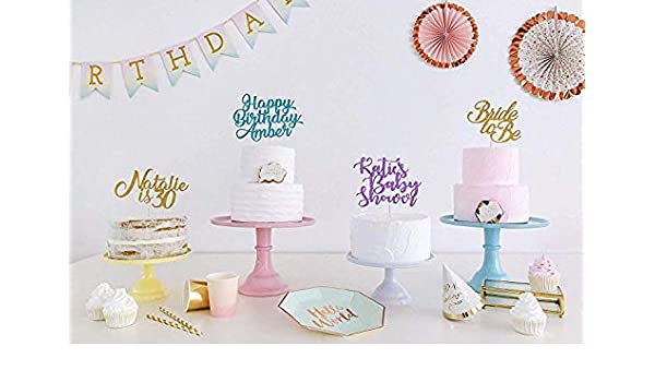 Outstanding Create You Own Wording Birthday Cake Topper Birthday Decoration Birthday Cards Printable Riciscafe Filternl