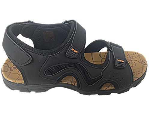 Foster Footwear ,  Jungen Herren Damen Gladiator Schwarz