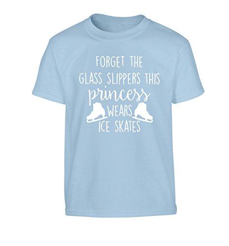 Flox Creative  Mädchen T-Shirt, Slogan Gr. X-Large, Blau - Hellblau (Blade-guards Blau)