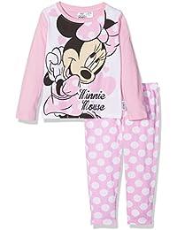 Disney Girl's Minnie Mouse Polka Dot Pyjama Set