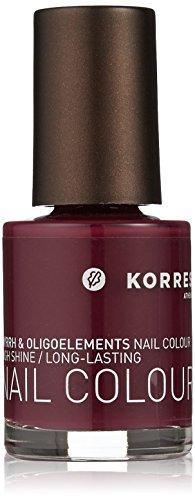 Korres Vernis à ongles couleur, violet 11 ml