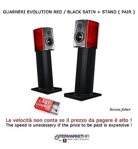 Sonus Faber Guarnieri Evolution Red/Black Satin + STAND