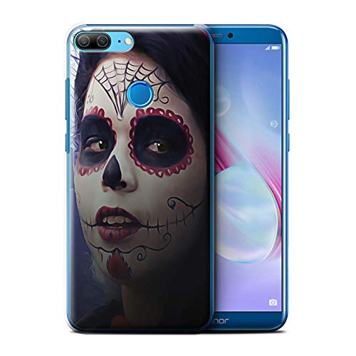 Stuff4® Hülle/Case für Huawei Honor 9 Lite/Halloween Bilden Muster/Tag Der Toten Festival Kollektion (9 Tag Halloween)