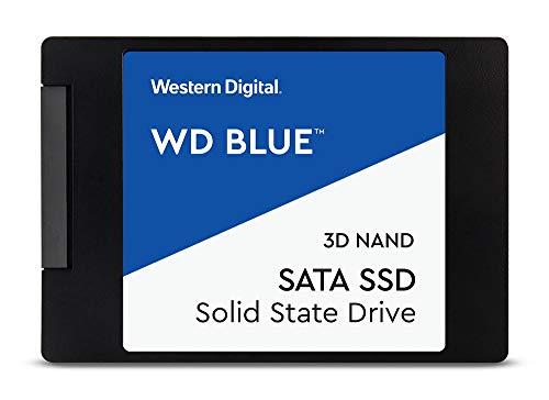 """Western Digital WDS400T2B0A WD Blue 4TB 3D NAND Internal SSD 2.5"""" SATA"""