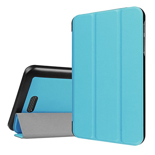 WiTa-Store Hülle für Acer Iconia One 7 B1-780 7.0 Zoll Schutzhülle Etui Tablet Tasche Smart Cover (Hellblau)