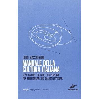 Manuale Della Cultura Italiana