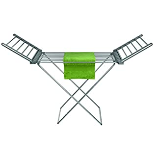 Pifco P38005 Y-Shaped Heated Clothes Airer, Heats up to 55 Degrees Celsius, Foldable, Anti-Slip Feet, 220 W, White