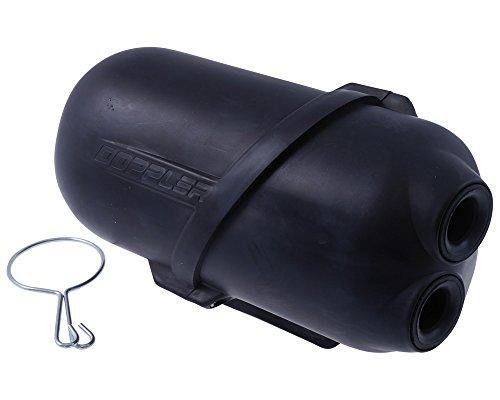 Preisvergleich Produktbild Luftfilter DOPPLER Air Box 35mm schwarz für Yamaha Neo's 50 (bis Bj. 07 / 2007)