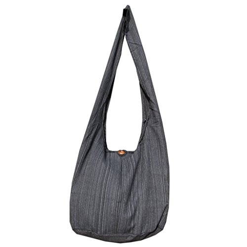 Damen Bucket Bag (PANASIAM Shoulderbag LINI Uni black L)
