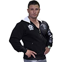 BIG SM EXTREME SPORTSWEAR Bodybuilding Sweatshirt Jacket Hoody 3554