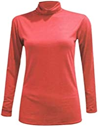 Mes Camisetas Mujer Coral Y Tops Blusas es The Último Amazon POqS4vP