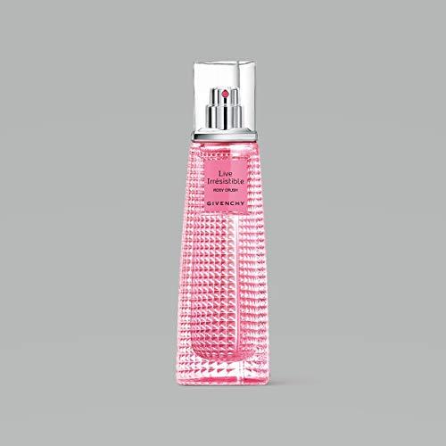 Givenchy Live Irresistible Rosy Crush Eau de Parfum floral, 1er Pack (1 x 50 ml) - Live Eau De Parfum Spray