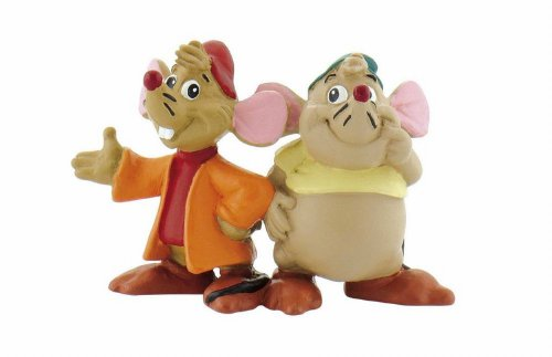 Bullyland – B12502 – Figurine Gus Et Jack – Cendrillon Disney – 6 cm